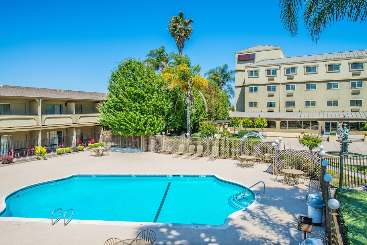 at the Ramada West Sacramento Hotel and Suites in West Sacramento, California