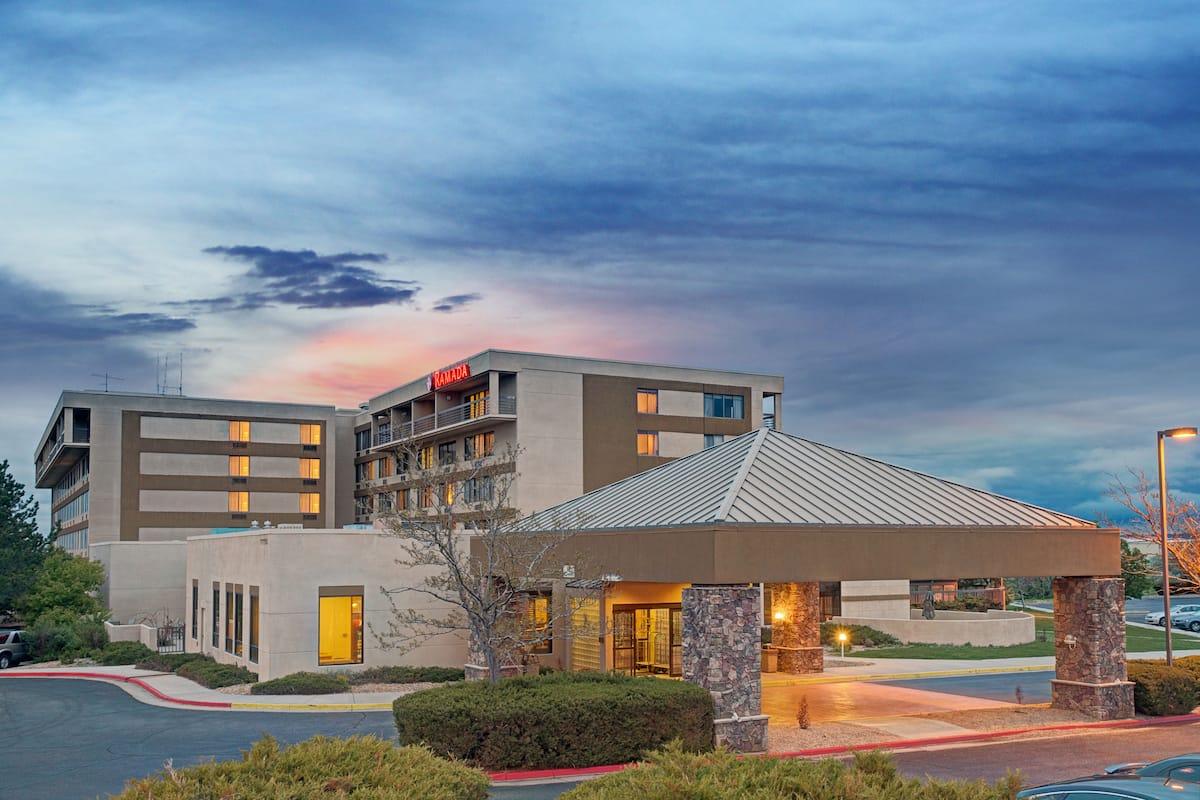 Exterior Of Ramada Englewood Hotel Suites In Colorado