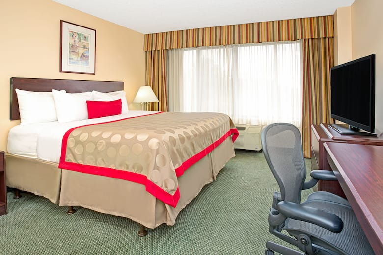 Guest Room At The Ramada Englewood Hotel Suites In Colorado