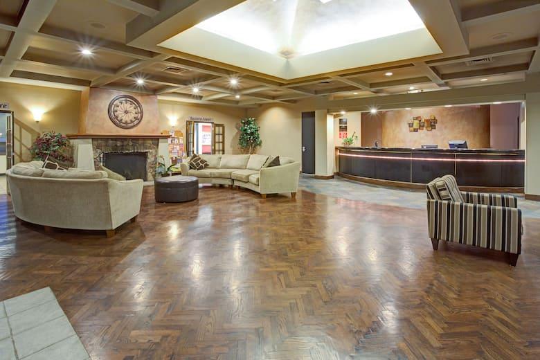 Ramada Englewood Hotel Suites Lobby In Colorado