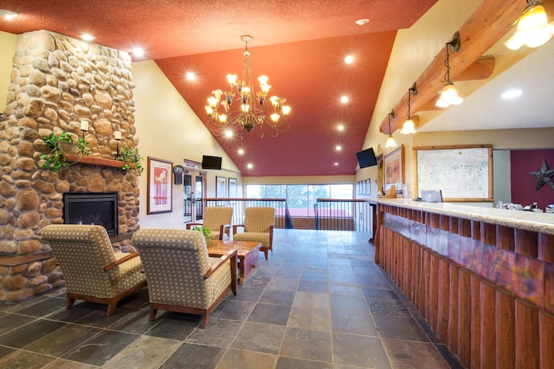 Ramada By Wyndham Monument Hotel Lobby In Colorado