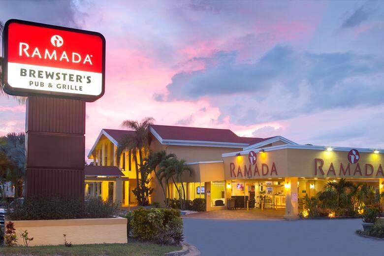 Exterior Of Ramada Fort Lauderdale Airport Cruise Port Hotel In Florida