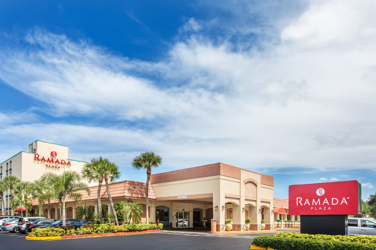 at the Ramada Plaza Fort Lauderdale in Fort Lauderdale, Florida
