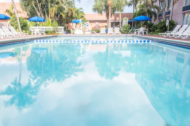 Pool At The Ramada Plaza Fort Lauderdale In Florida