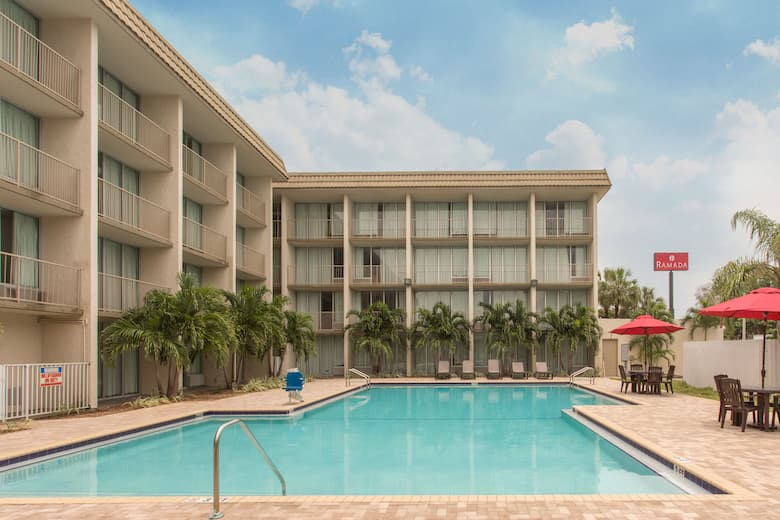 Pool At The Ramada By Wyndham Hialeah Miami Airport North In Florida