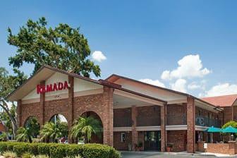 Exterior Of Ramada Temple Terrace Tampa North Hotel In Florida
