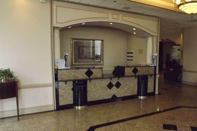 Ramada Gainesville Hotel Lobby In Georgia