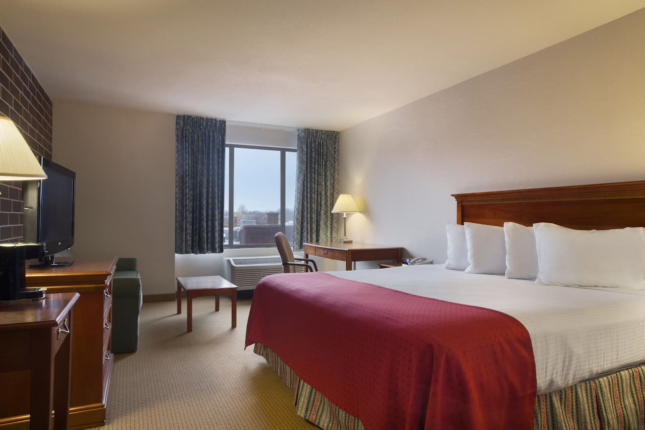 at the Ramada Waterloo Hotel and Convention Center in Waterloo, Iowa