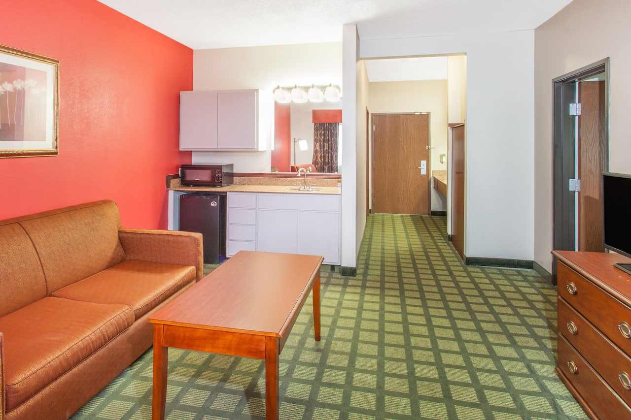 at the Ramada Limited Decatur in Decatur, Illinois