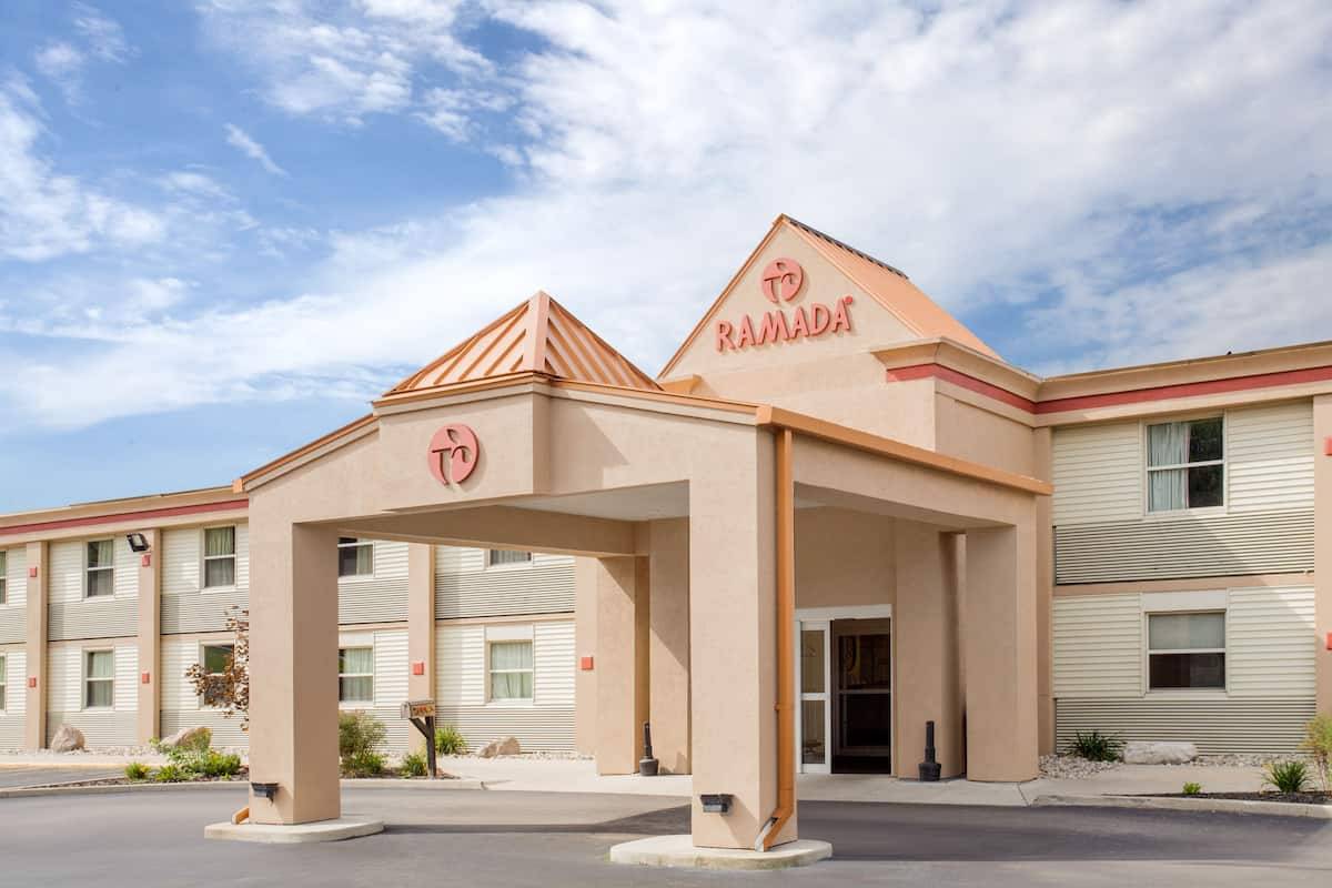 Exterior Of Ramada By Wyndham Angola Fremont Area Hotel In Indiana
