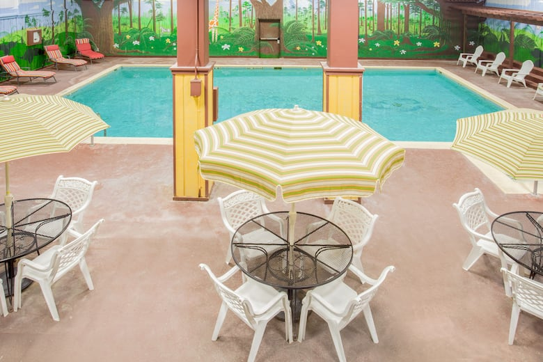 Pool At The Ramada By Wyndham Angola Fremont Area In Indiana