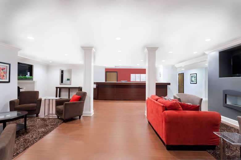 Ramada Limited Tell City Hotel Lobby In Indiana