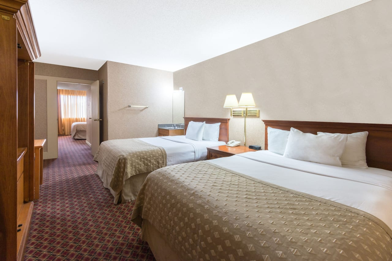 at the Ramada Topeka Downtown Hotel and Convention Center in Topeka, Kansas