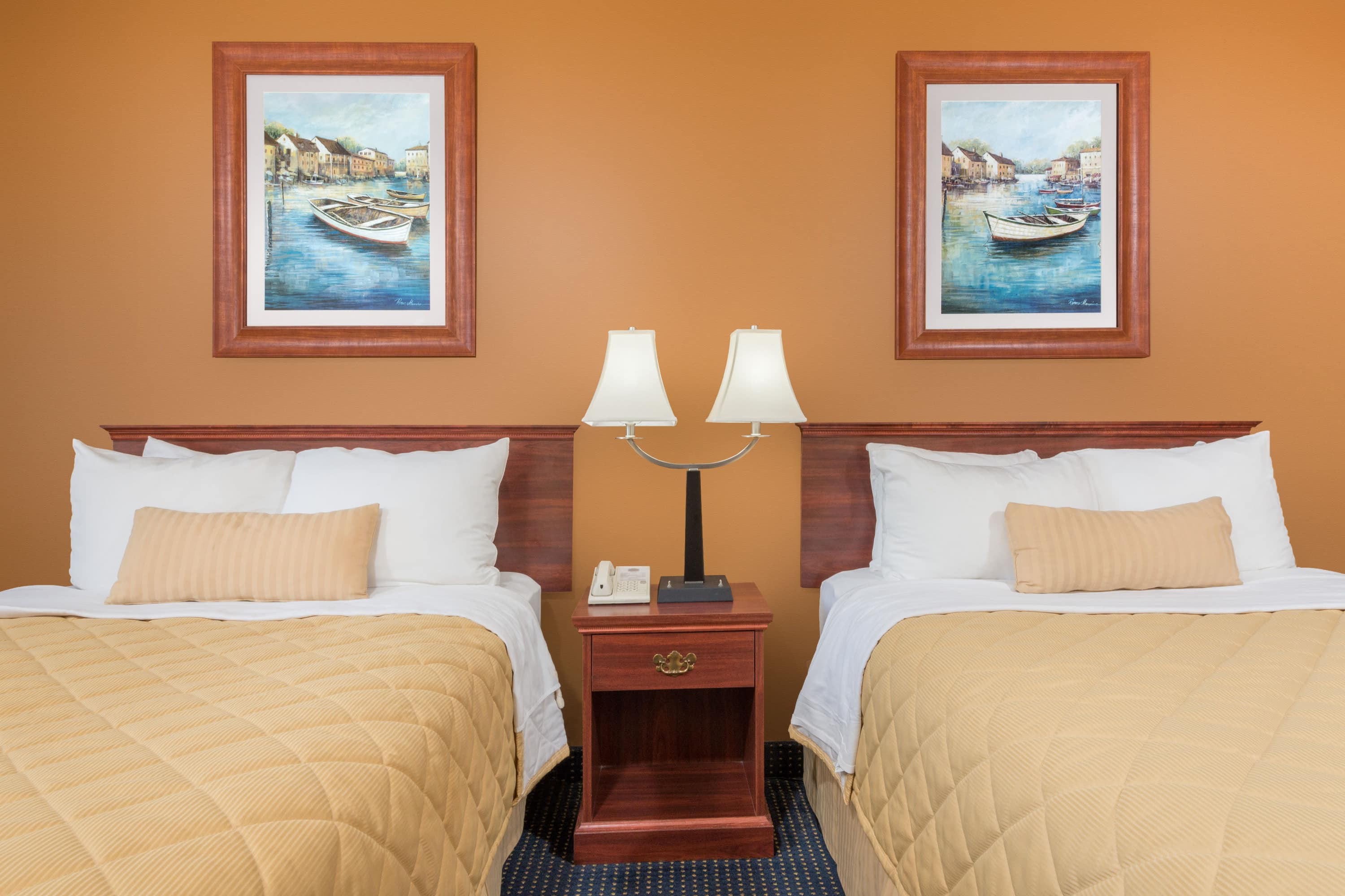 Guest room at the Ramada Limited Catlettsburg/Ashland in Catlettsburg, Kentucky