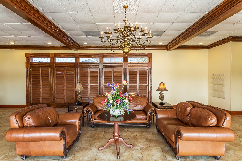 Ramada By Wyndham Houma Hotel Lobby In Houma, Louisiana
