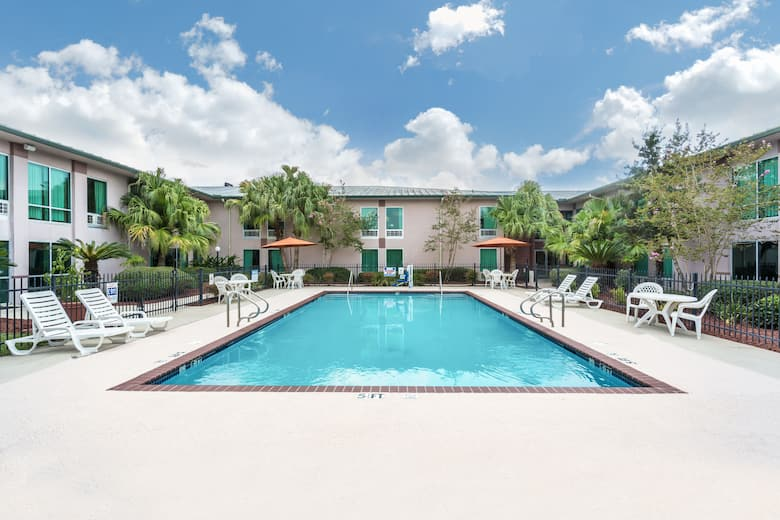 Pool At The Ramada By Wyndham Luling In Louisiana