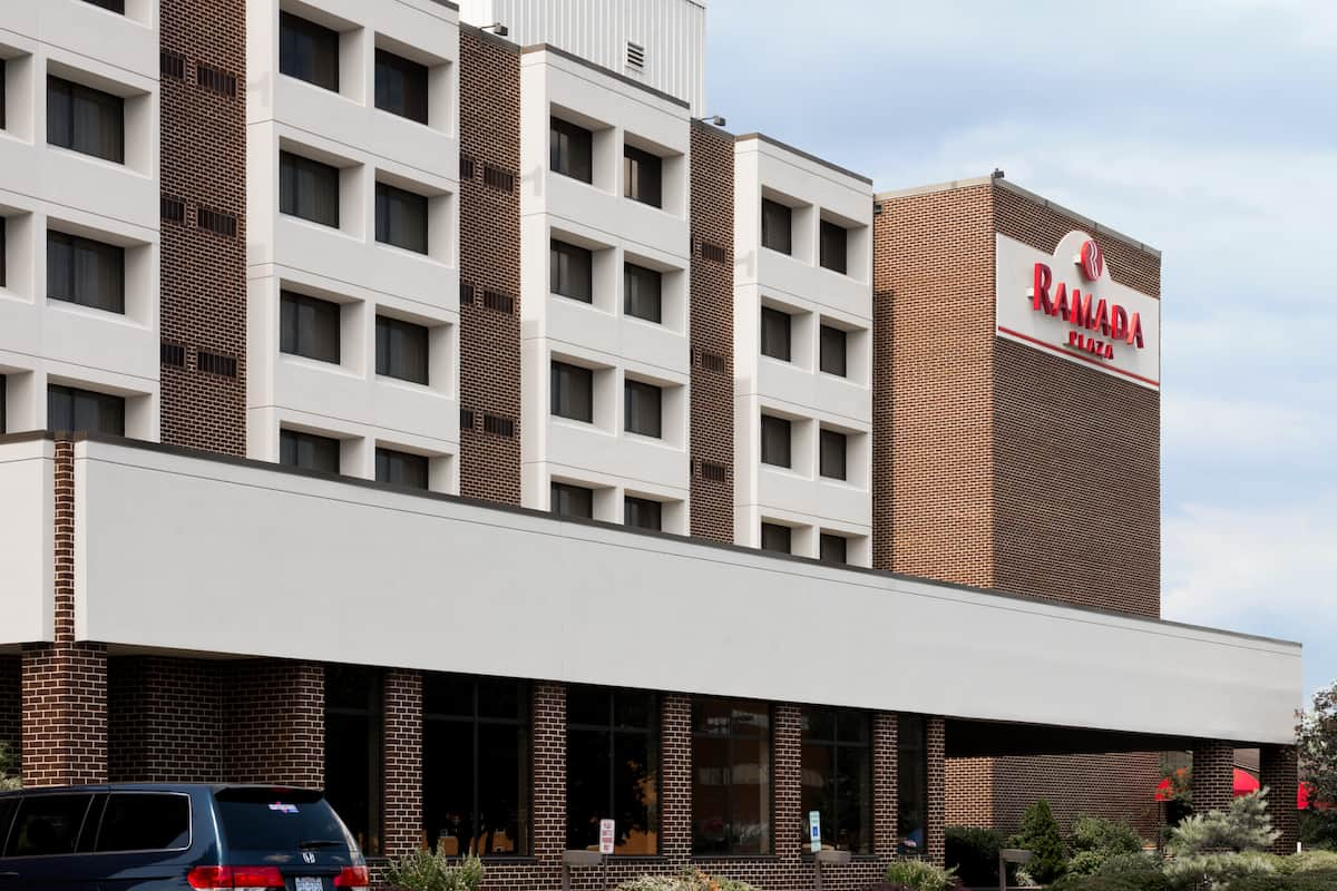 Exterior Of Ramada Plaza Hagerstown Hotel In Maryland