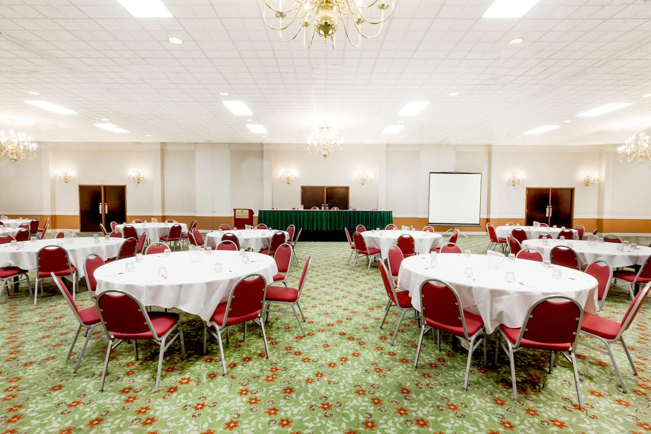 at the Ramada Lansing Hotel and Conference Center in Lansing, Michigan