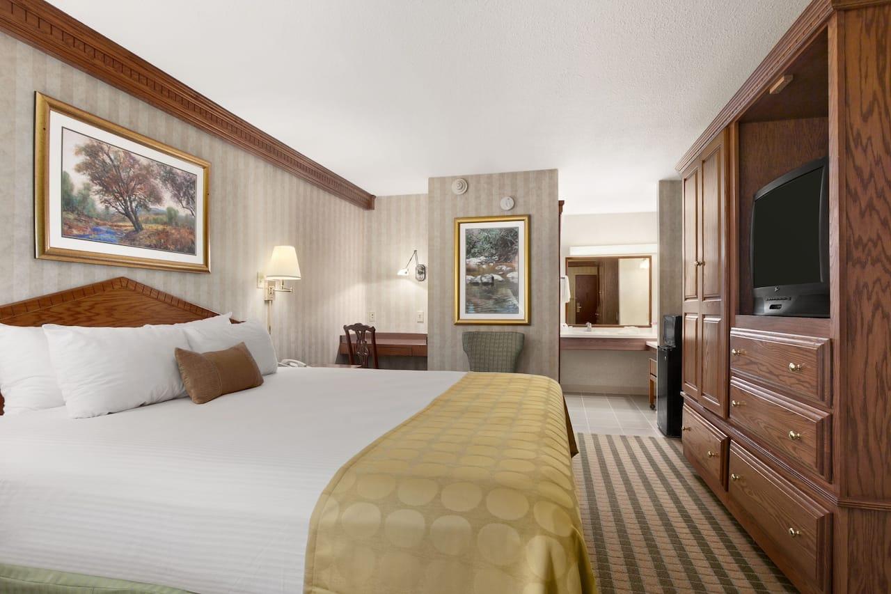 at the Ramada Saginaw Hotel & Suites in Saginaw, Michigan