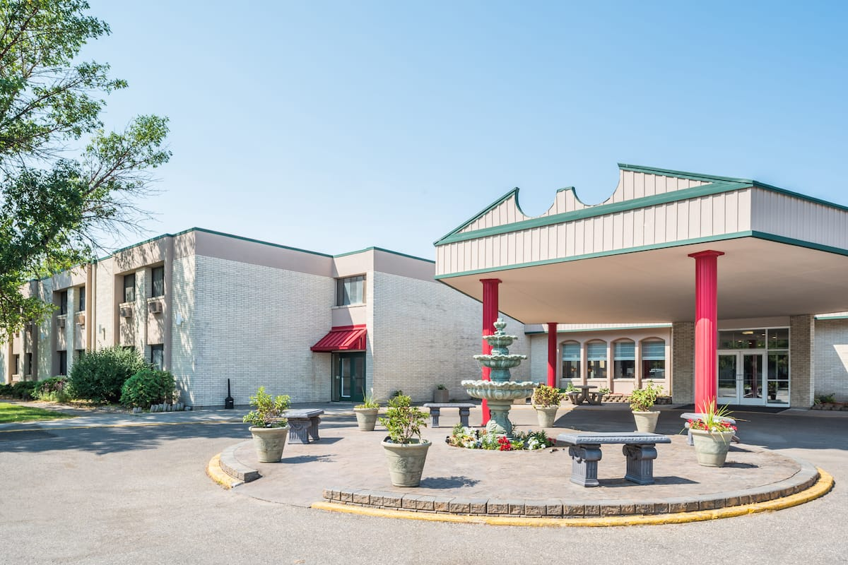 Exterior Of Ramada Grand Forks Hotel In North Dakota