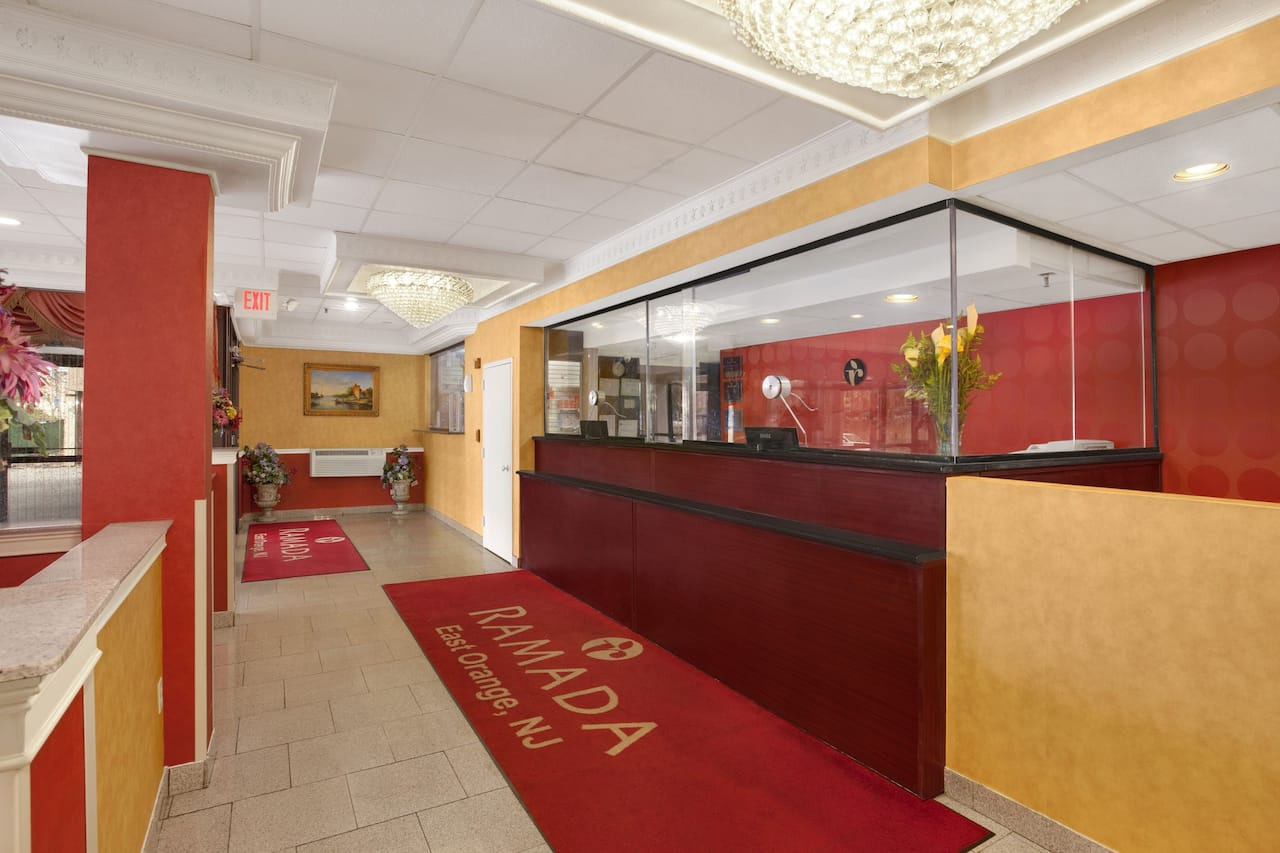 at the Ramada East Orange in East Orange, New Jersey
