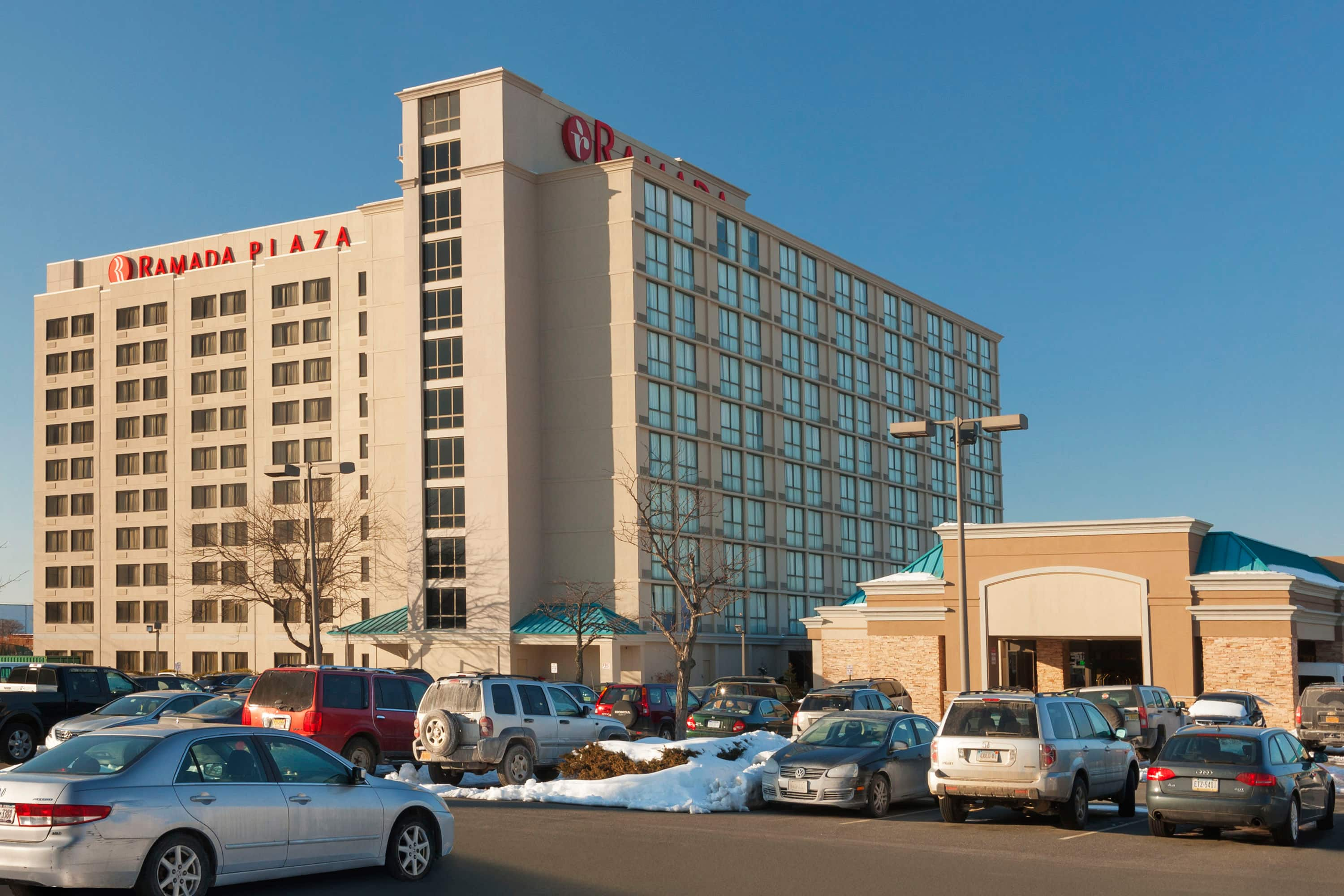 Finest Exterior Of Ramada Plaza Newark Liberty Airport Hotel In New Jersey With Hotels Near Gardens Mall