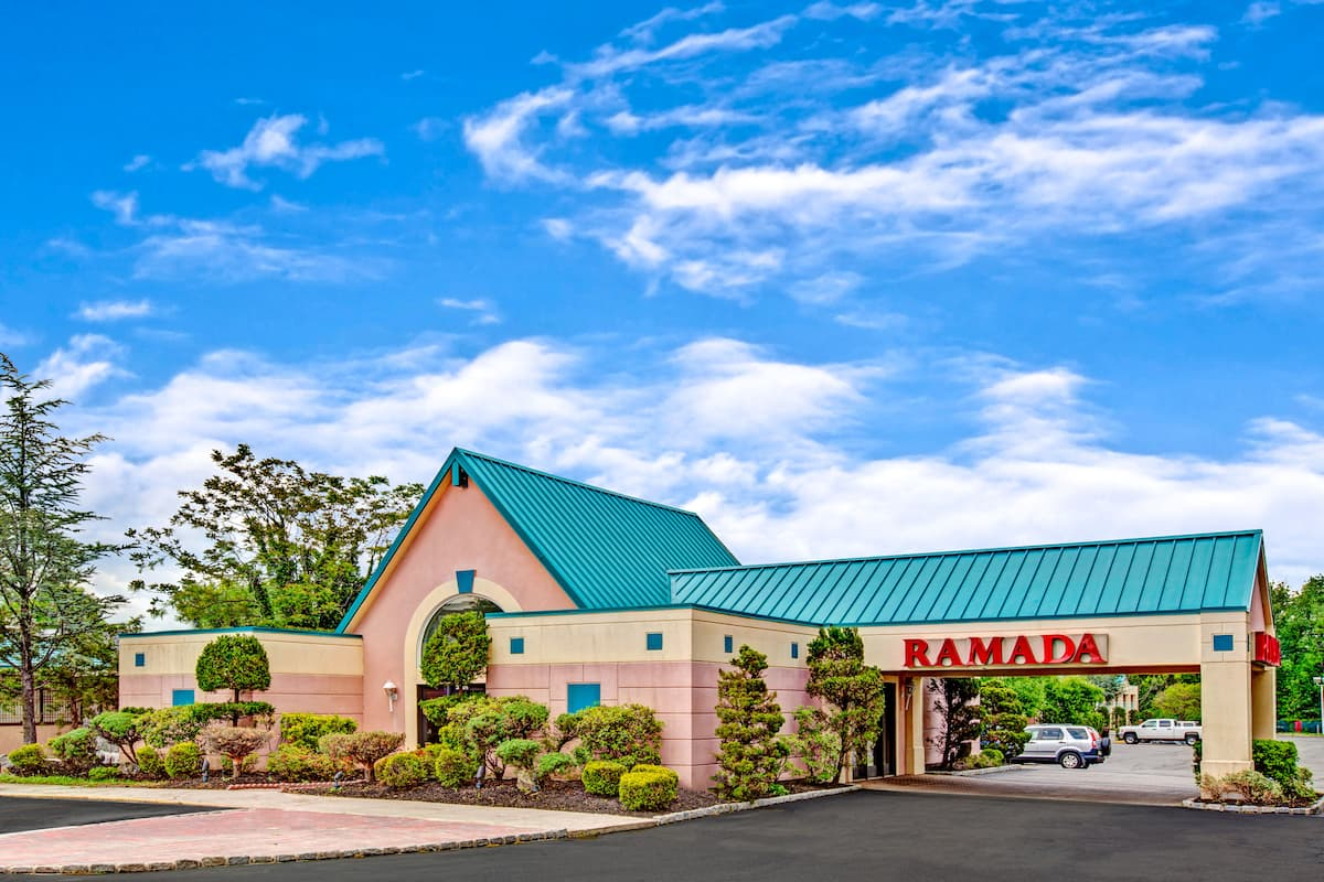 Exterior Of Ramada Parsippany Hotel In New Jersey
