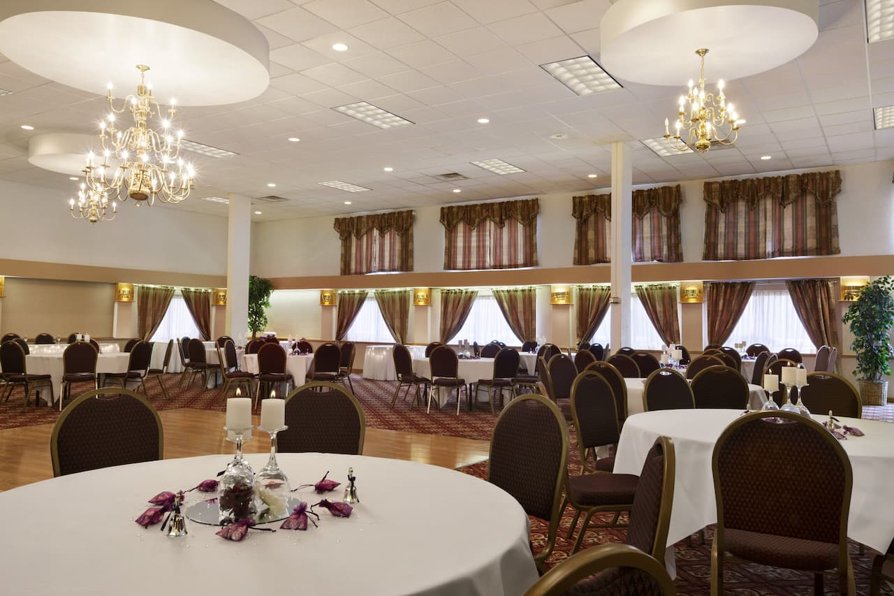 at the Ramada Cortland Hotel and Conference Center in Cortland, New York
