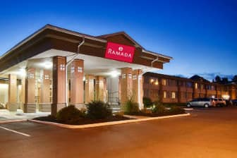 Exterior Of Ramada East Syracuse Carrier Circle Hotel In New York