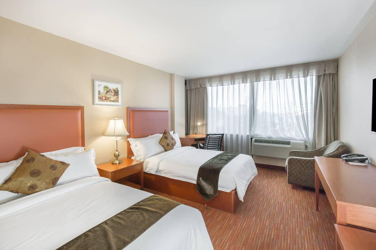 at the Ramada Flushing Queens in Flushing, New York