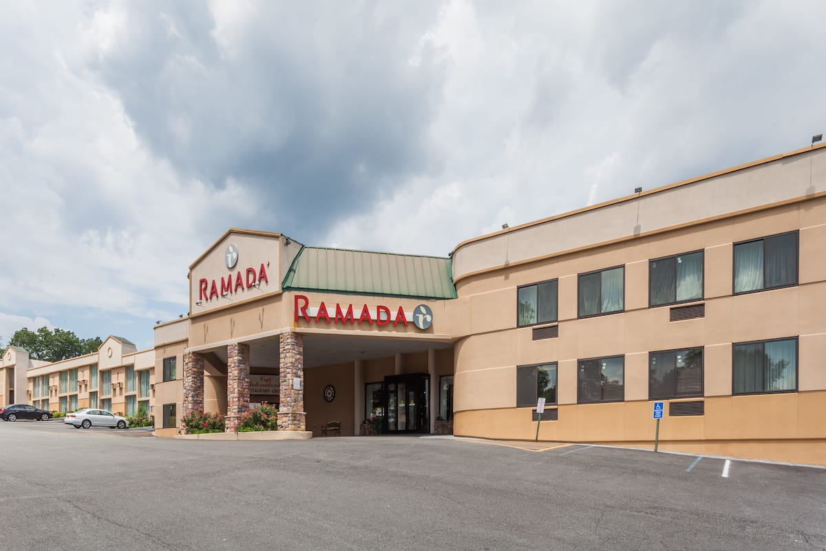 Exterior Of Ramada By Wyndham Newburgh West Point Hotel In New York
