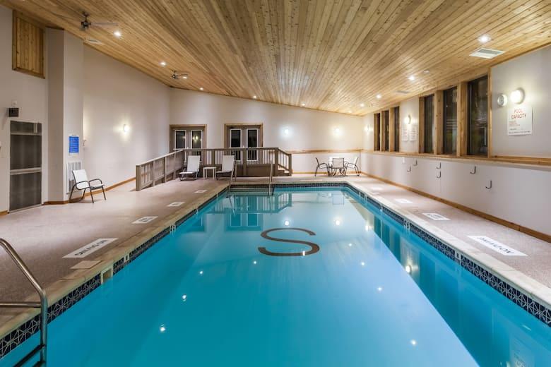 Pool At The Ramada Rock Hill Sullivan Center In New York