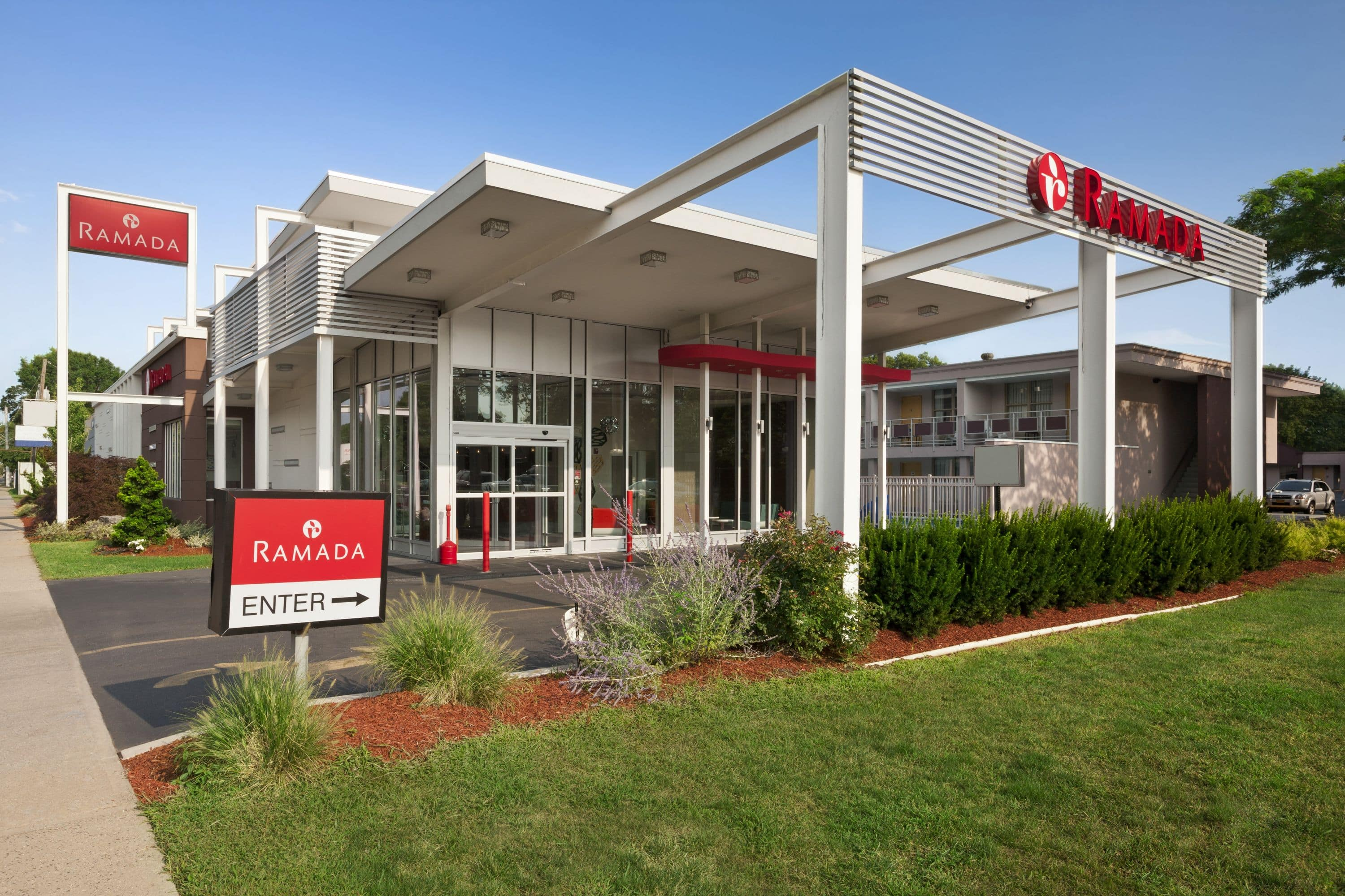 Cool Exterior Of Ramada Rockville Centre Hotel In New York With Hotels Near Hicksville Ny