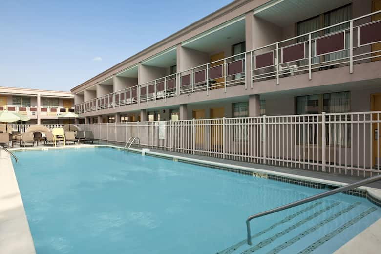 Pool At The Ramada By Wyndham Rockville Centre In New York