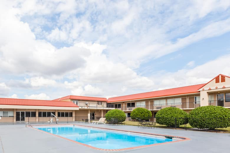 Pool At The Ramada By Wyndham Clinton In Oklahoma