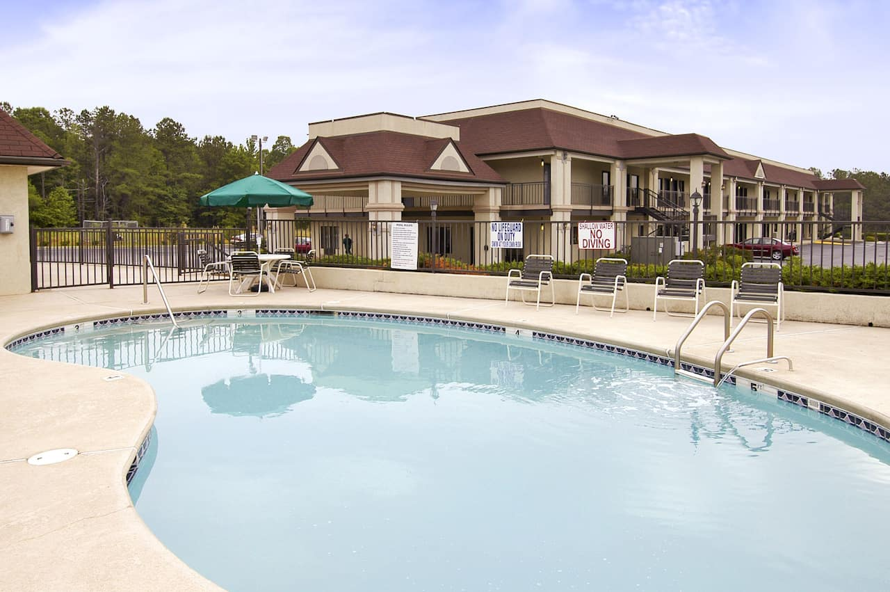 at the Ramada Limited Ridgeway in Ridgeway, South Carolina