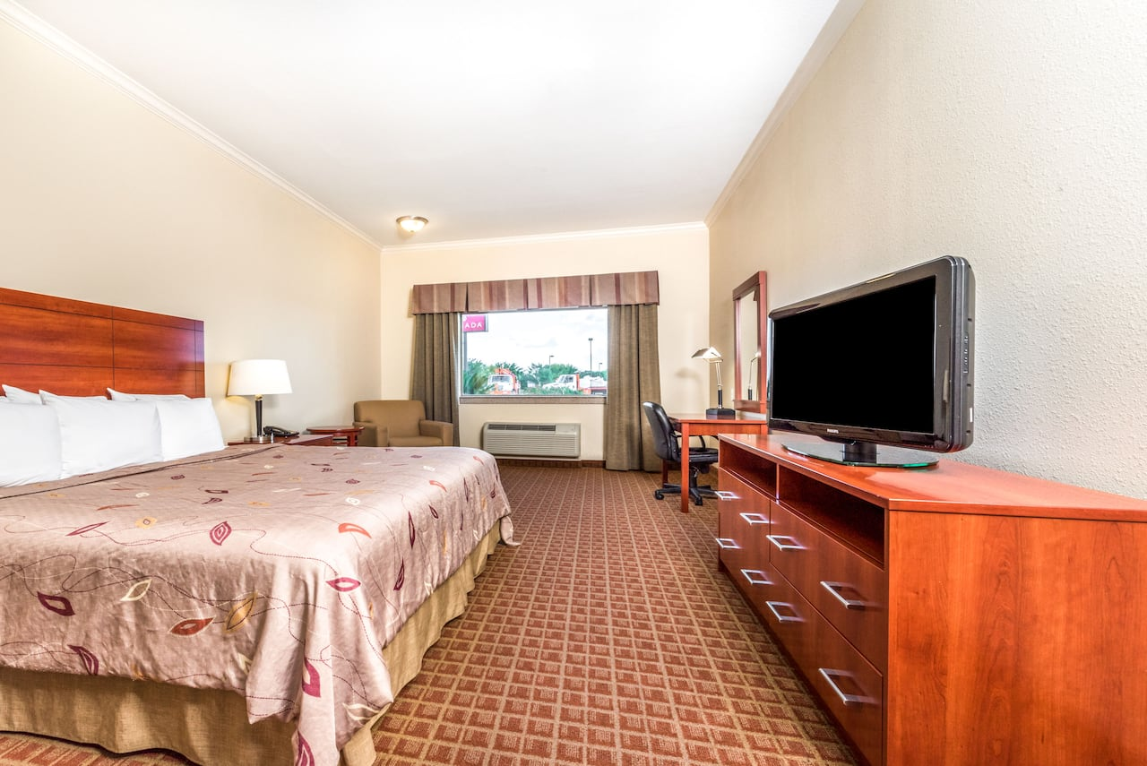 at the Ramada College Station in College Station, Texas
