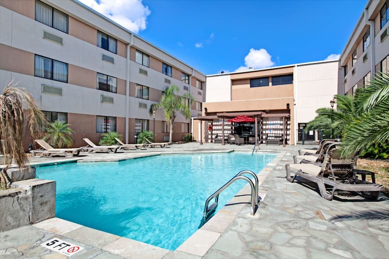 Pool At The Ramada Houston Intercontinental Airport South In Texas