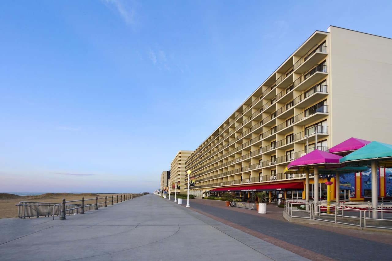 Ramada Virginia Beach Oceanfront near The Jewish Mother Hilltop