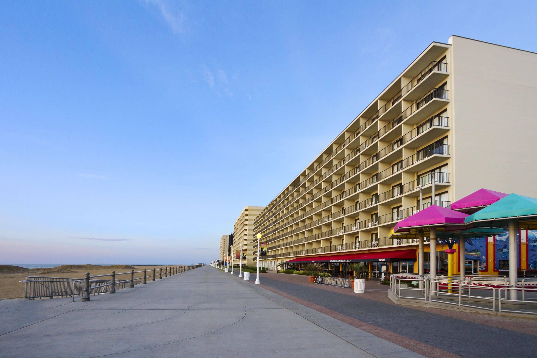 exterior of ramada virginia beach oceanfront hotel in virginia beach virginia - Virginia Beach Suites Oceanfront 2 Bedroom