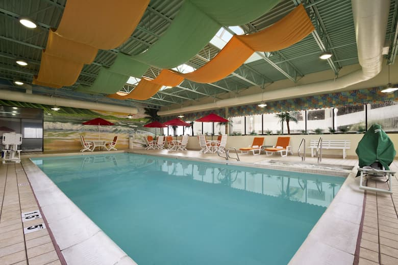 Pool At The Ramada By Wyndham Virginia Beach Oceanfront In