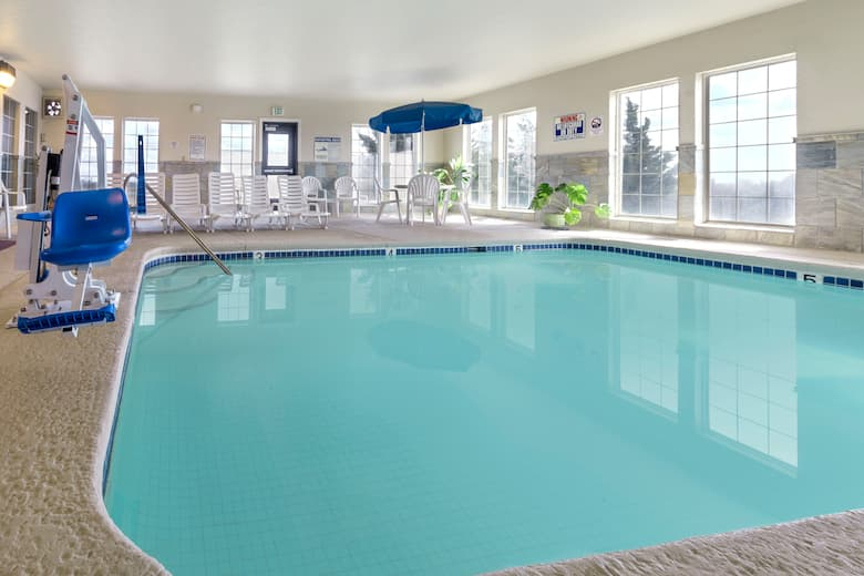 Pool At The Ramada Moses Lake In Washington