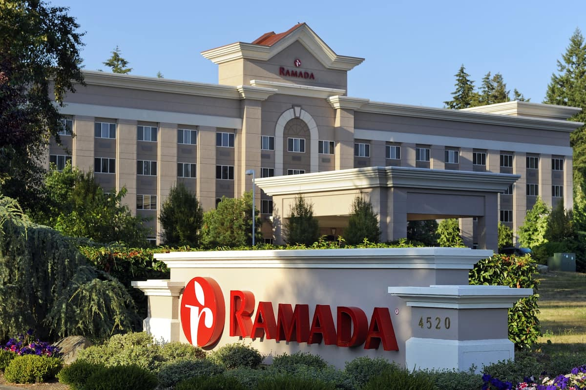 Exterior Of Ramada By Wyndham Olympia Hotel In Washington