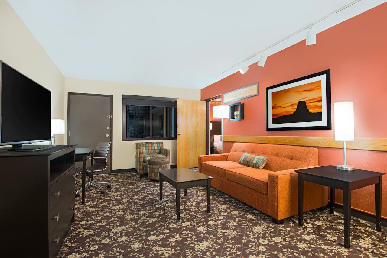 at the Ramada Plaza Gillette in Gillette, Wyoming