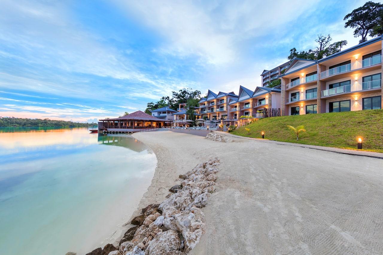 at the Ramada Resort Port Vila in Port Vila, Vanuatu