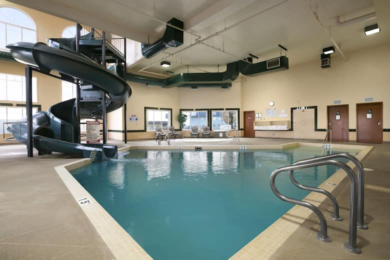 Pool At The Super 8 By Wyndham Fort Nelson Bc In British