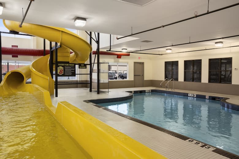 Pool At The Super 8 Lloydminster In Saskatchewan