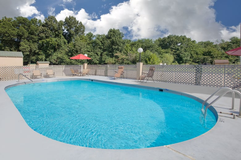 Pool At The Super 8 By Wyndham Clarksville Ar In Arkansas