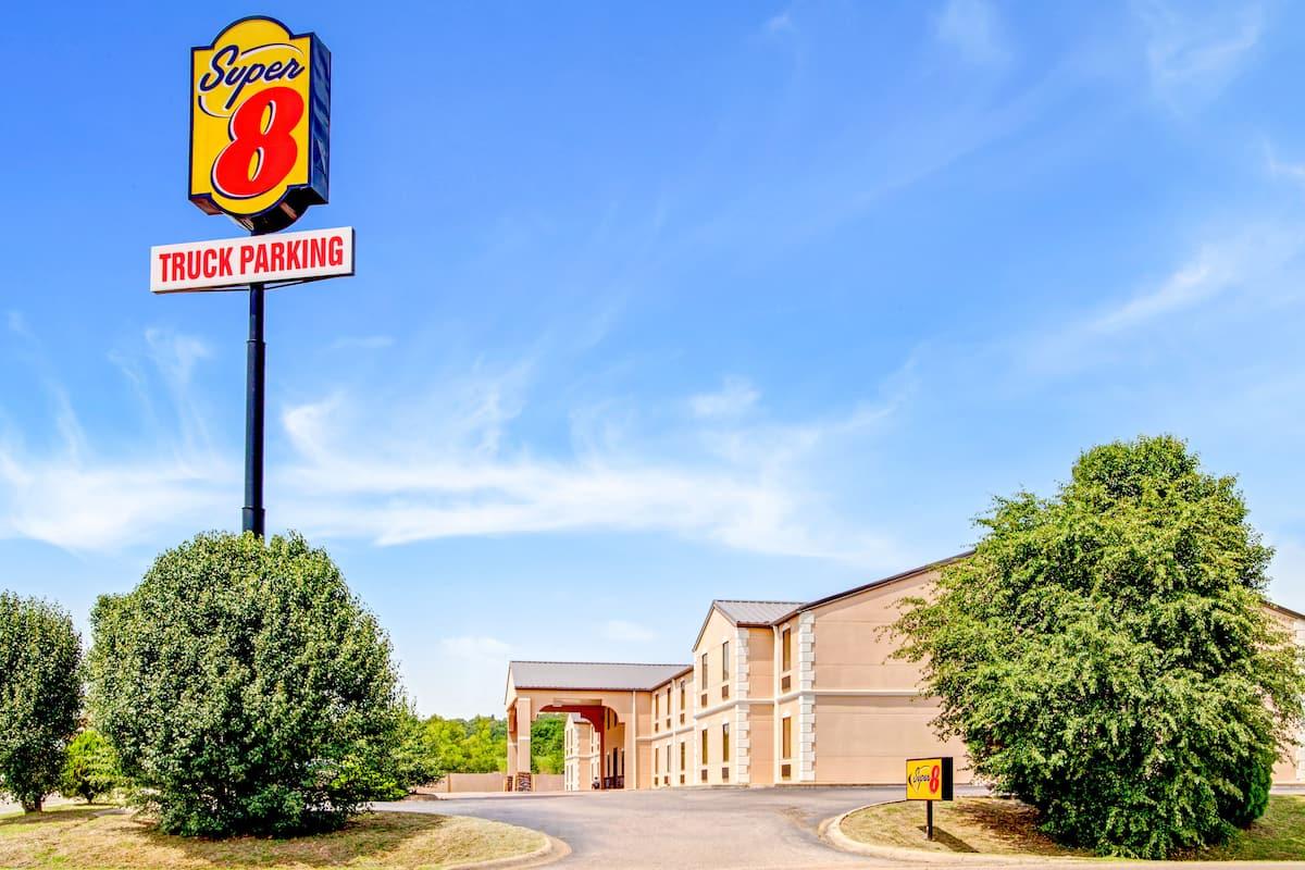 Exterior Of Super 8 Forrest City Ar Hotel In Arkansas