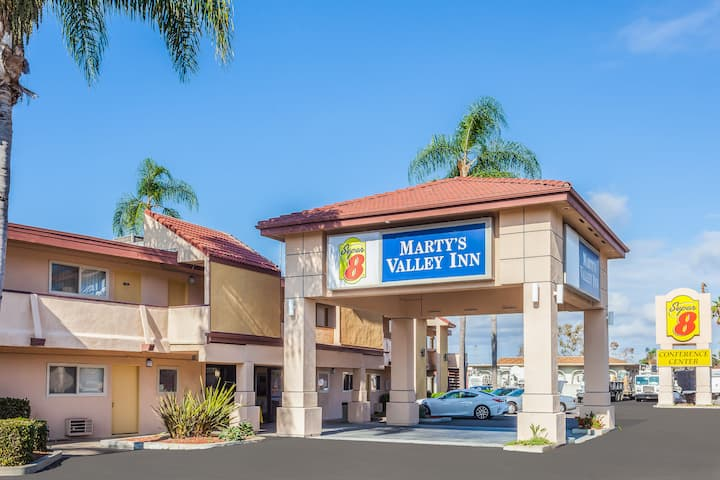 California Exterior Of Super 8 By Wyndham Oceanside Marty S Valley Inn Hotel In
